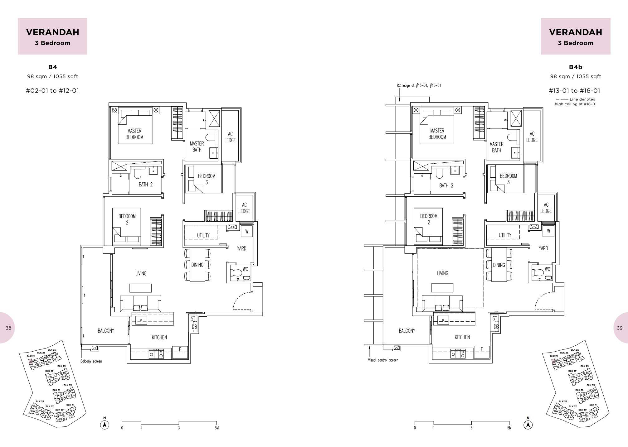 Parc Life FloorPlan B4 and B4b