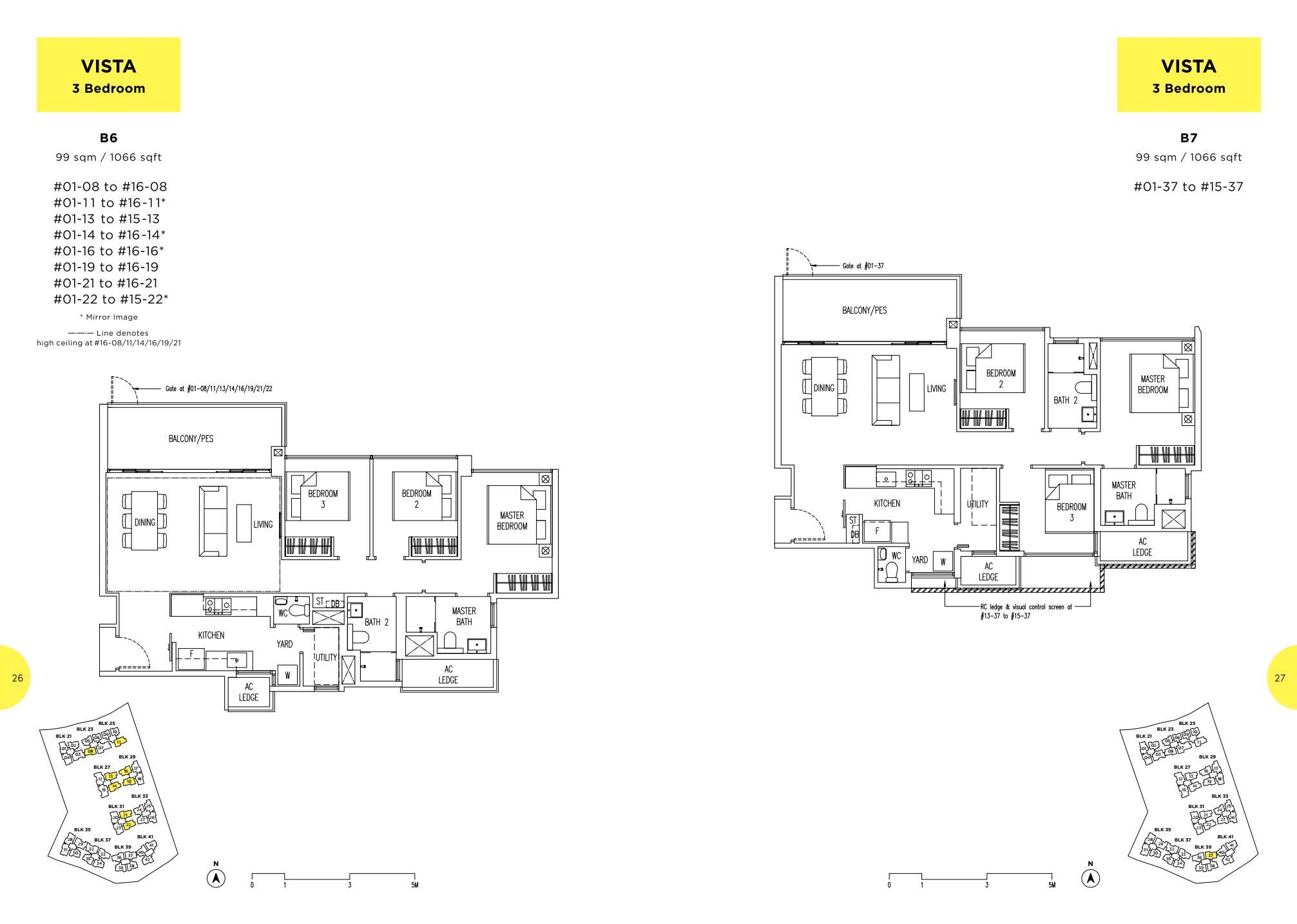 Parc Life FloorPlan B6 and B7