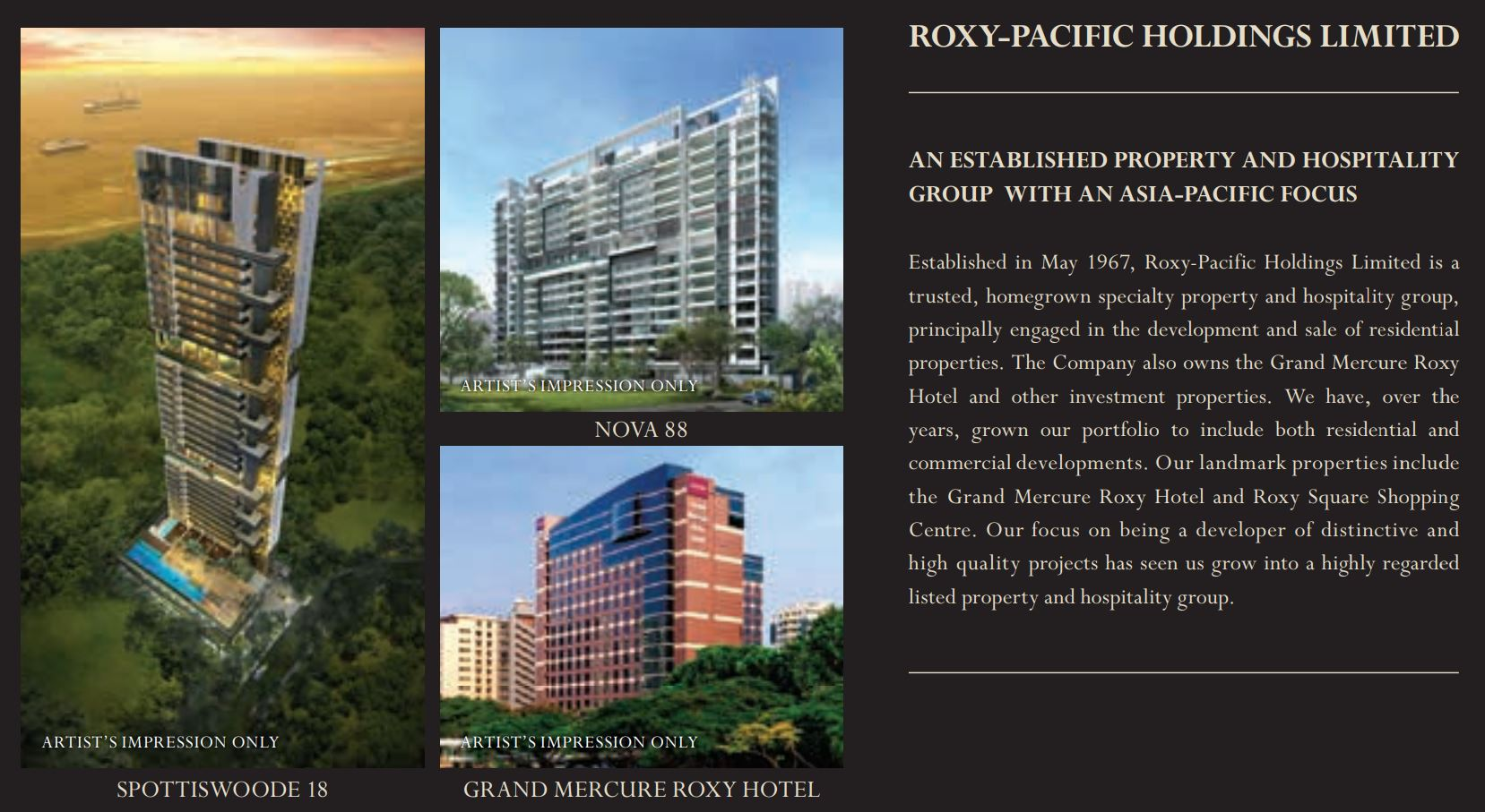 Roxy Pacific Holdings Limited