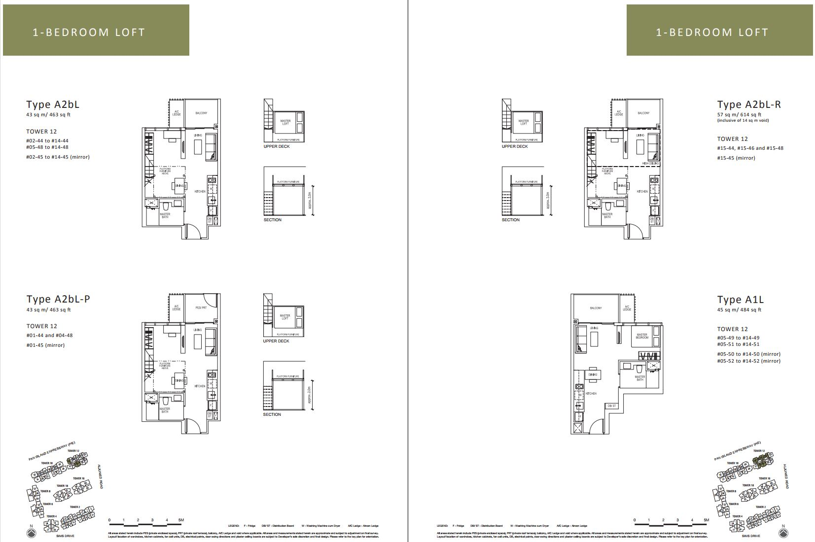Sims Urban Oasis FloorPlan - 1 Bedroom Loft_1