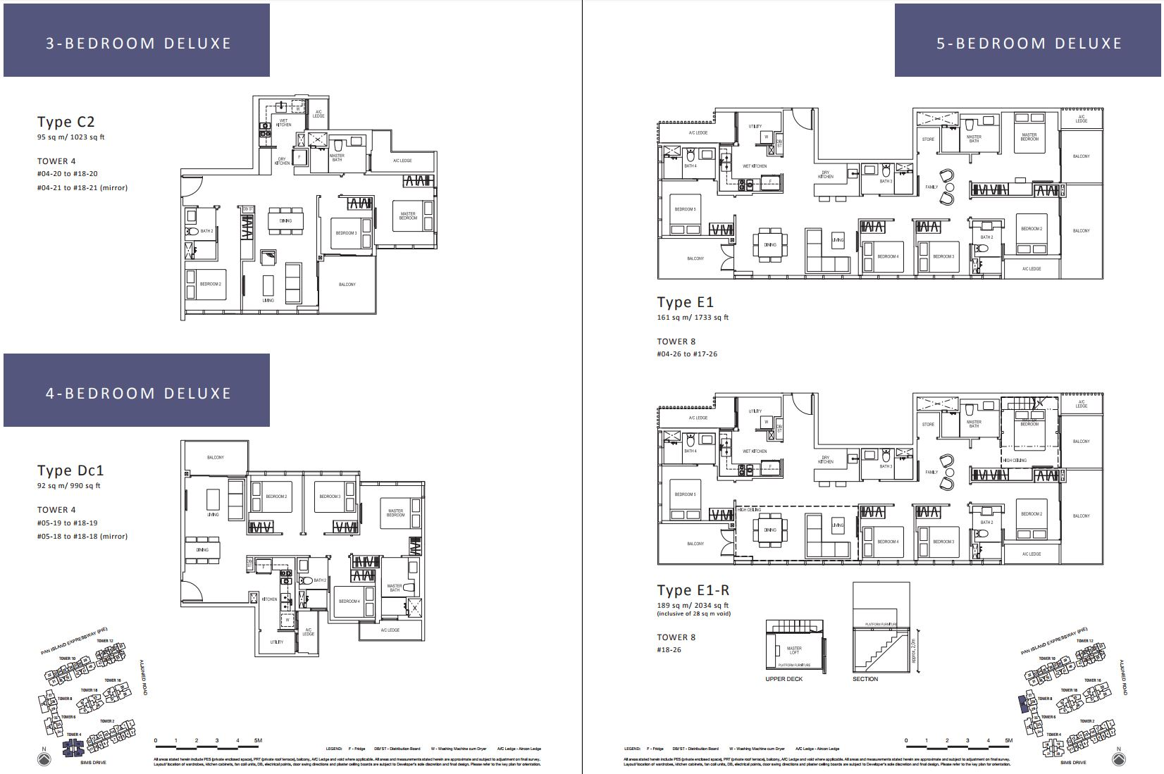 Sims Urban Oasis FloorPlan - 3-5 Bedroom Deluxe