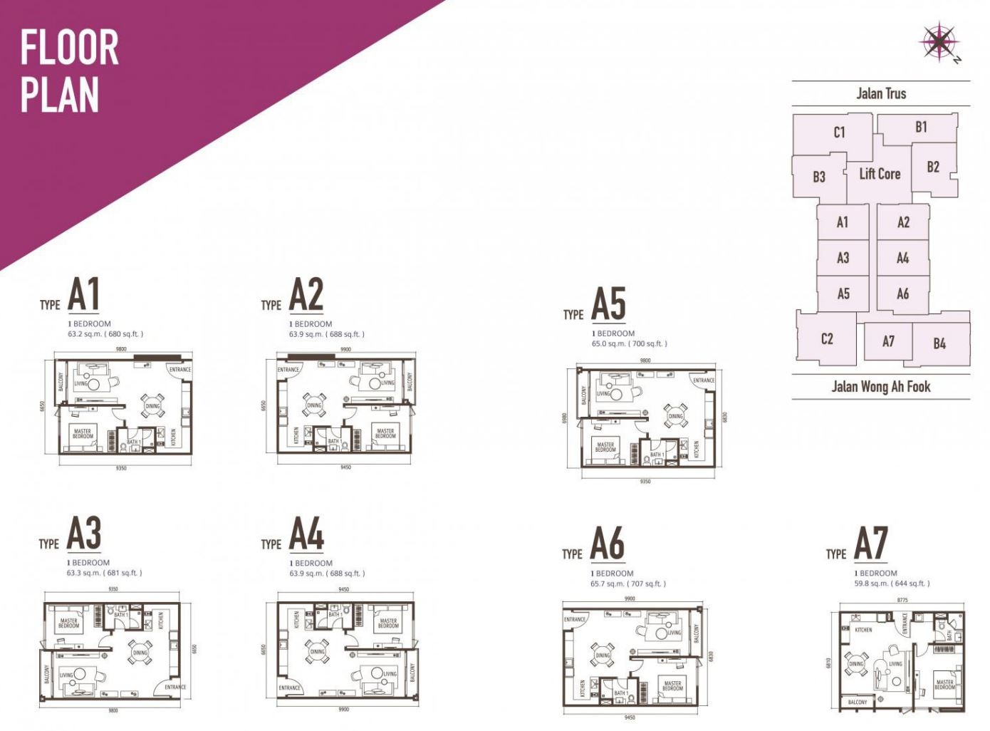 Suasana FloorPlan - Type A