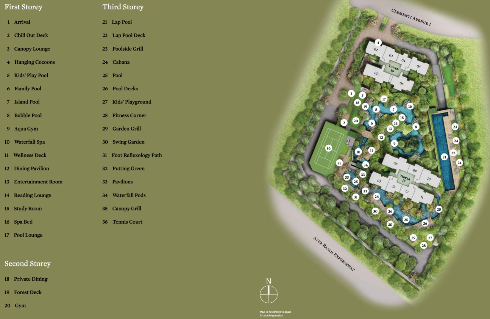 The Clement Canopy Site Plan
