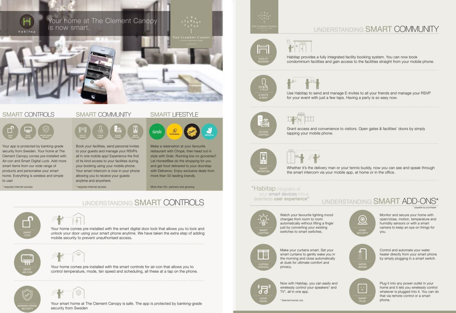 The Clement Canopy Smart Home