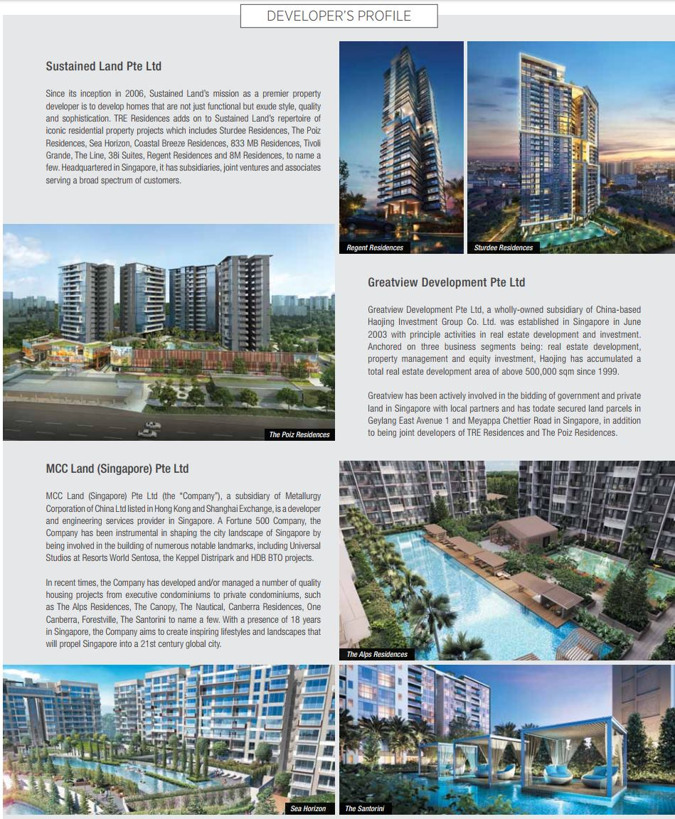 Tre Residences Developer