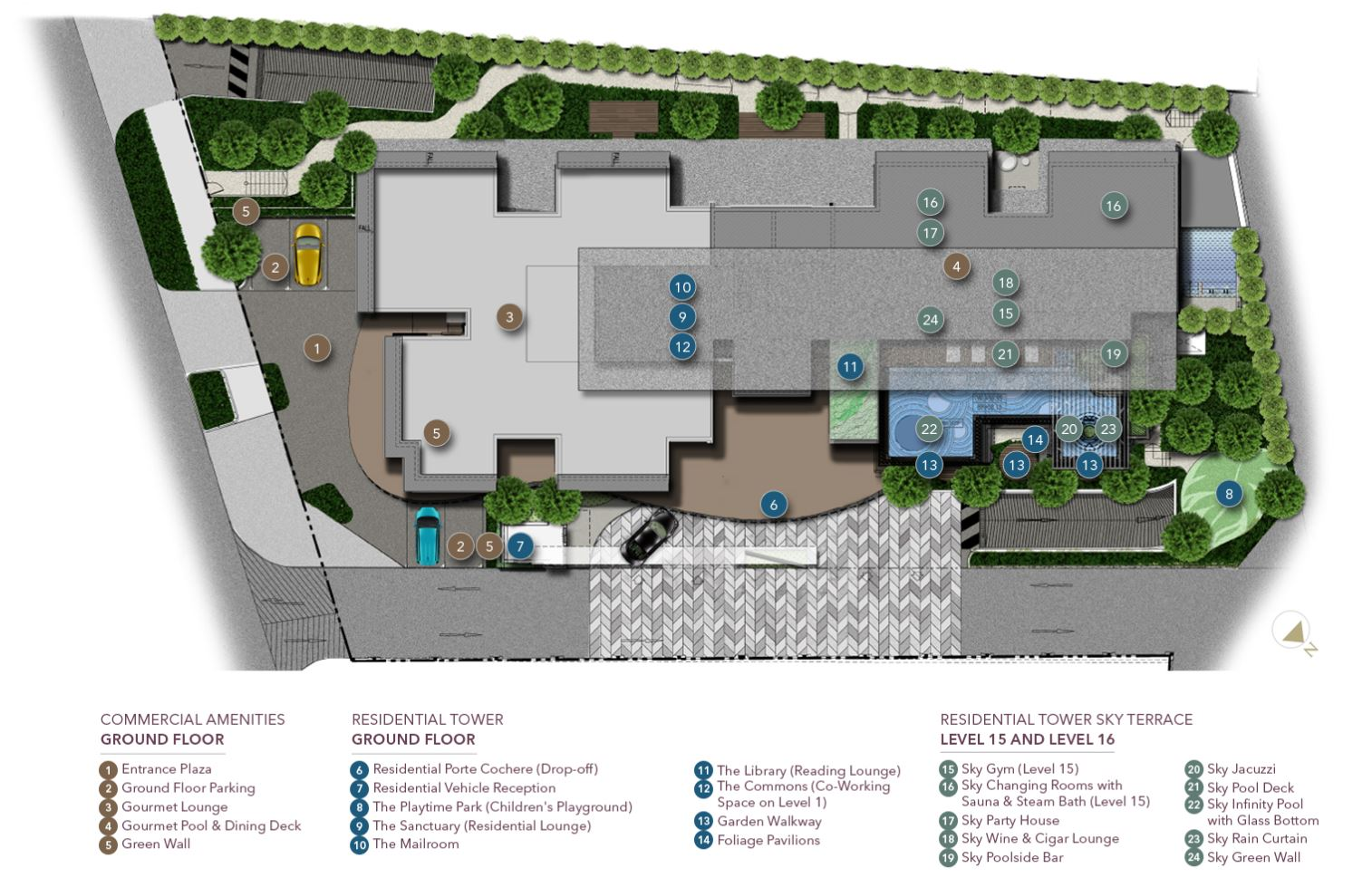 D1mension Site Plan Facilities