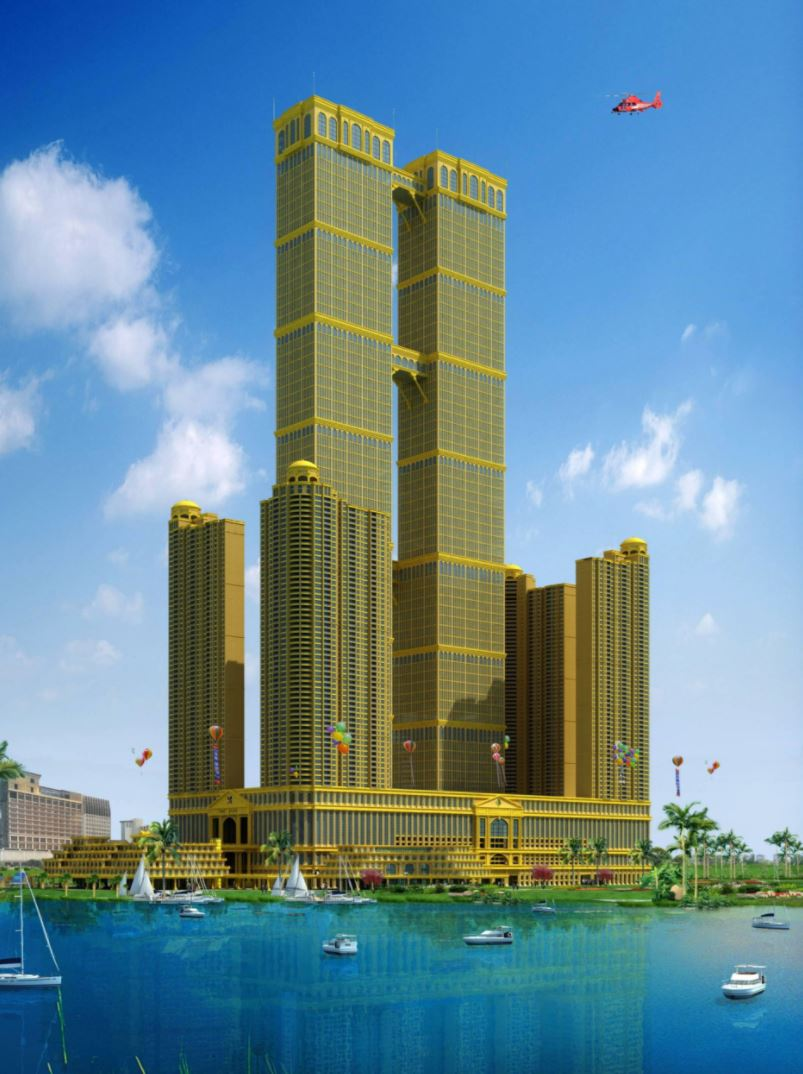 Future South East Asia's Tallest 133-storey Tower