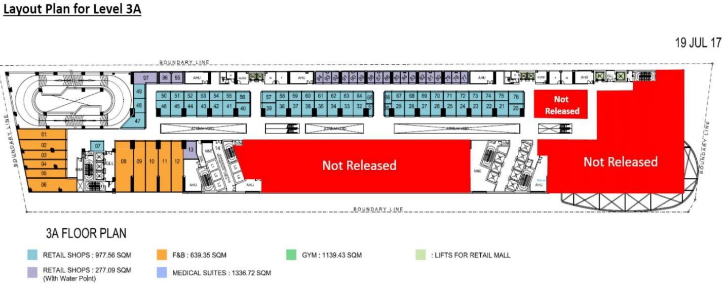 The Bridge Retail FloorPlan _ Level 3A