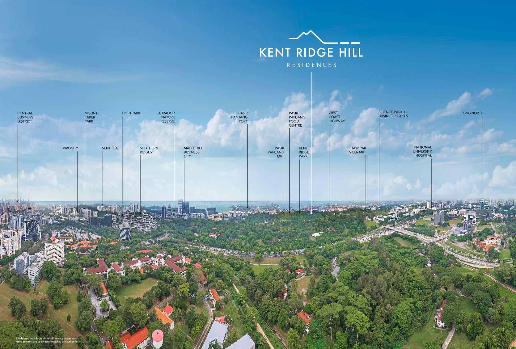 Kent Ridge Hill Residences Location