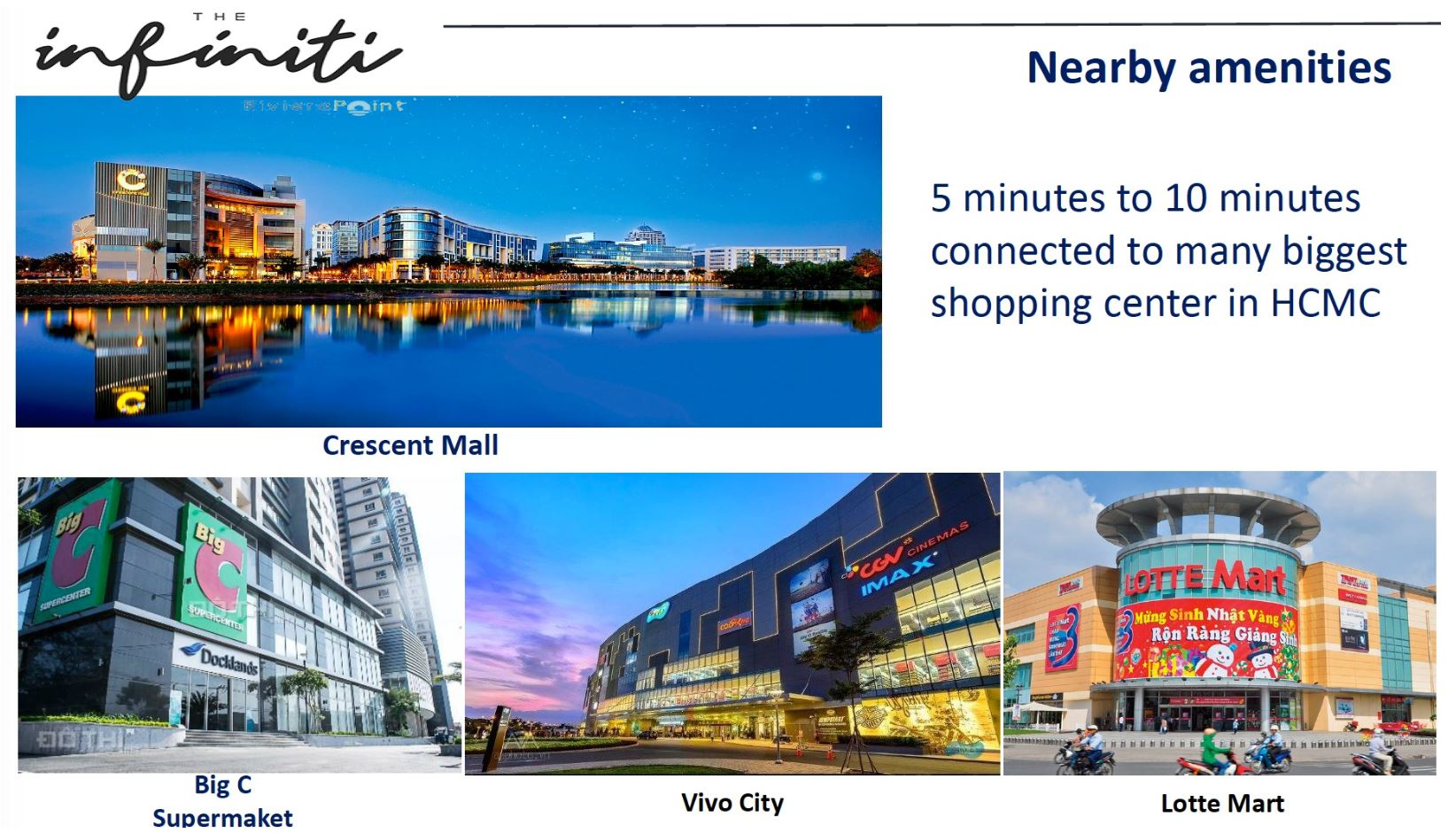 The Infiniti Mall Amenities