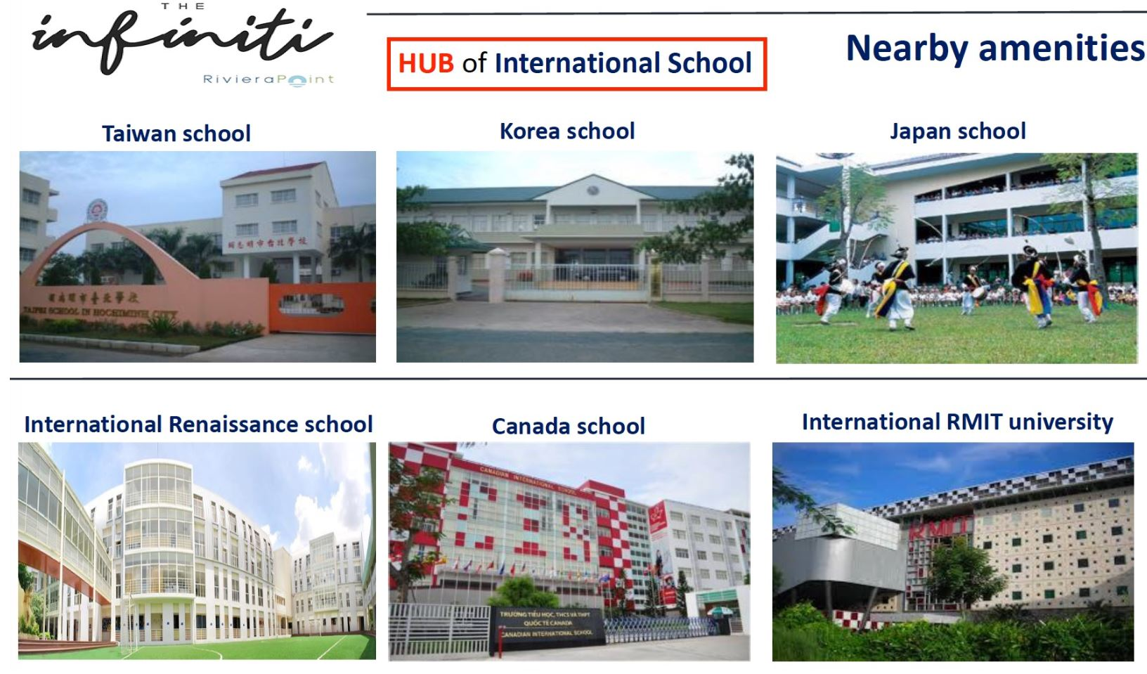 The Infiniti School Amenities