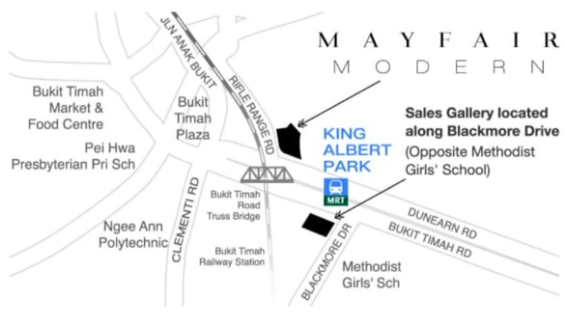 Mayfair Modern Location