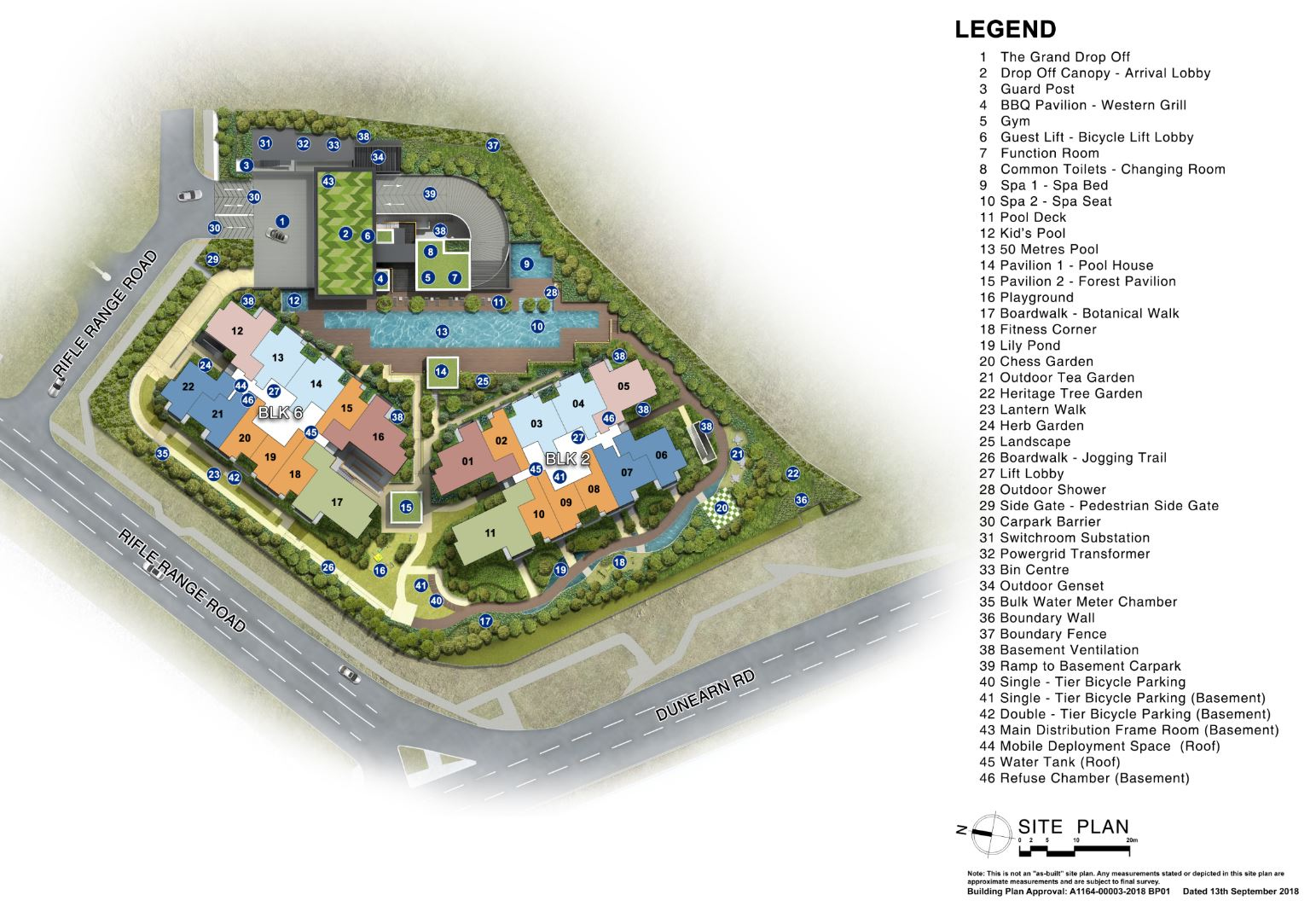 Mayfair Modern Siteplan