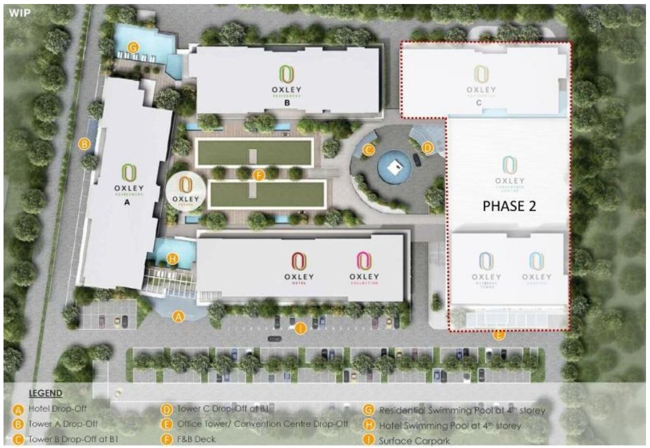 Oxley Convention City Site Plan