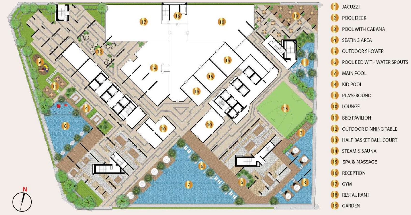 Royal Platinum Cambodia Site Plan
